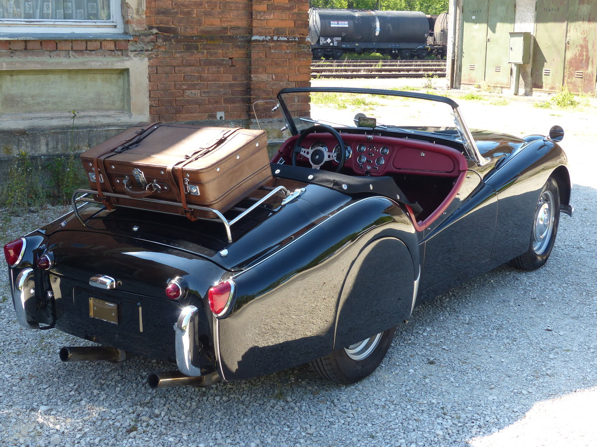 1957 TR3 Smallmouth with Spats and much more.. For Sale (picture 2 of 6)