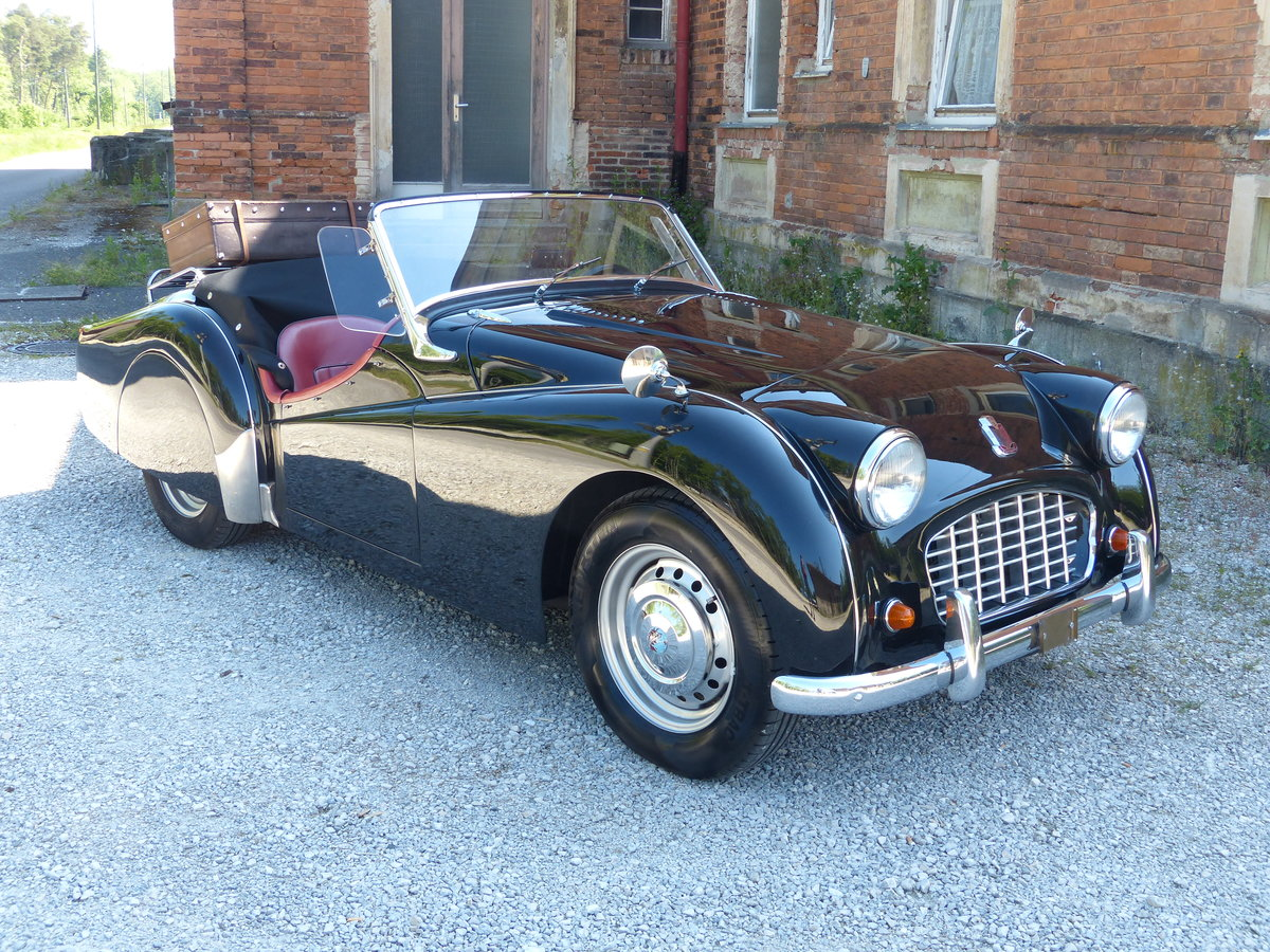 1957 TR3 Smallmouth with Spats and much more.. For Sale (picture 3 of 6)