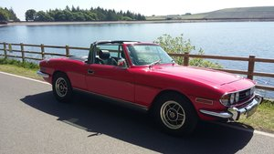1973 Triumph Stag, Manual gearbox with overdrive.
