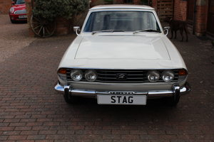 1975 Original 21,000 miles from New Triumph Stag