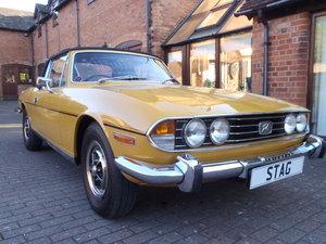 1972 Triumph Stag Mk1 Auto in Saffron Yellow. // Sold //