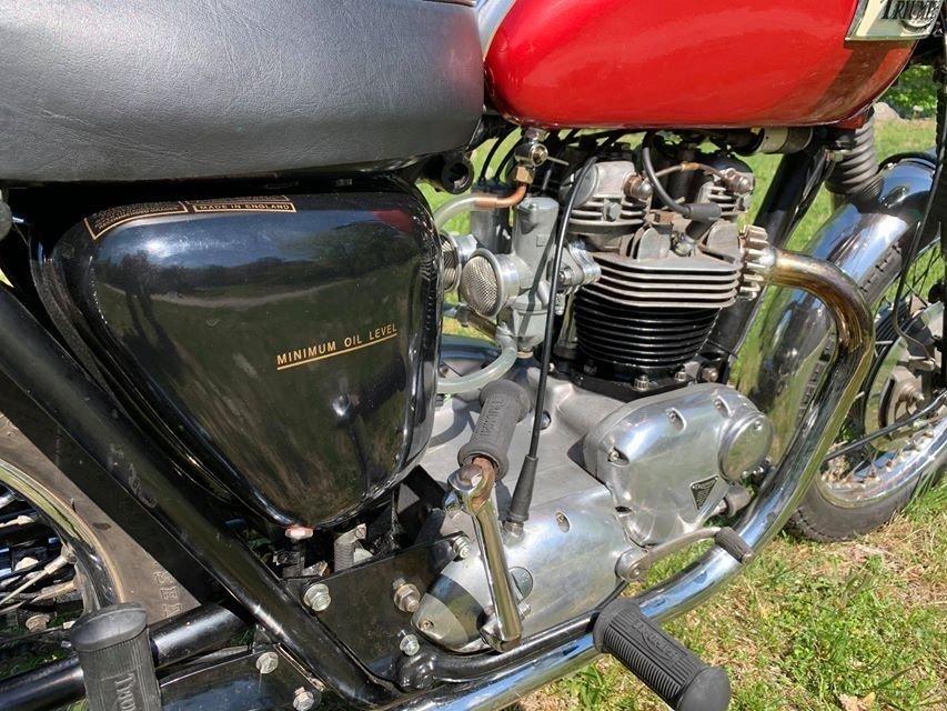 Triumph Bonneville  650cc unit construction 1969 For Sale (picture 2 of 6)