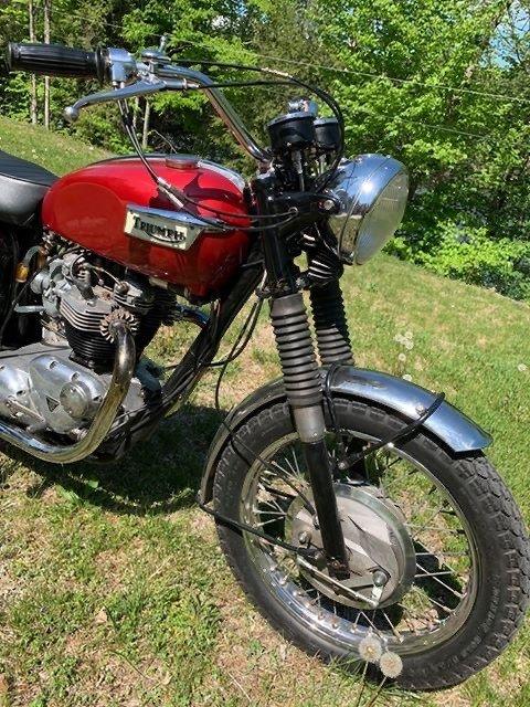 Triumph Bonneville  650cc unit construction 1969 For Sale (picture 3 of 6)
