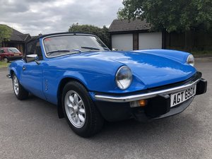 1981 X Triumph Spitfire 1500   last owner 19 years