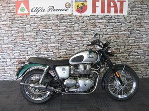 2002 02-reg Triumph 790cc Bonneville T100 Retro