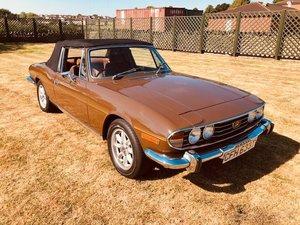 1975 Triumph Stag Mk2 Auto 46,300 miles FSH Mint NewMOT