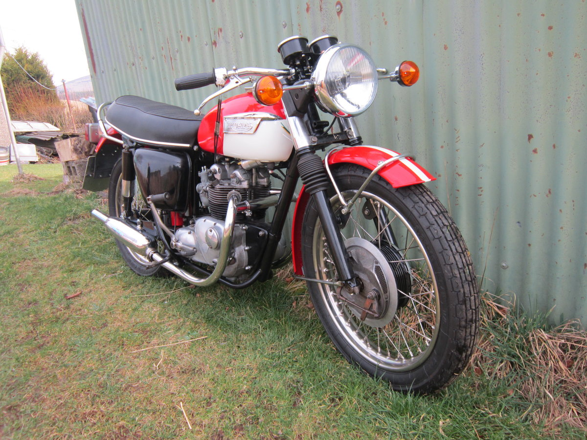 1973 Triumph T100R Daytona For Sale (picture 5 of 5)
