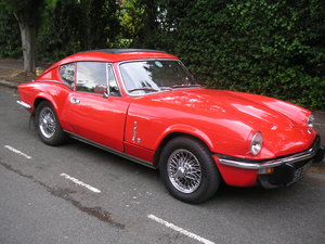1973 Triumph GT6 MK3 DEPOSIT TAKEN For Sale