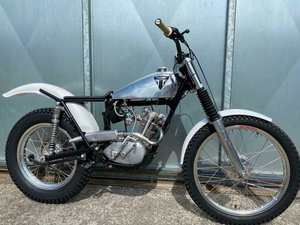 TRIUMPH TIGER CUB 250 TRIALS ARMAC FRAME MODS MINTER £7995