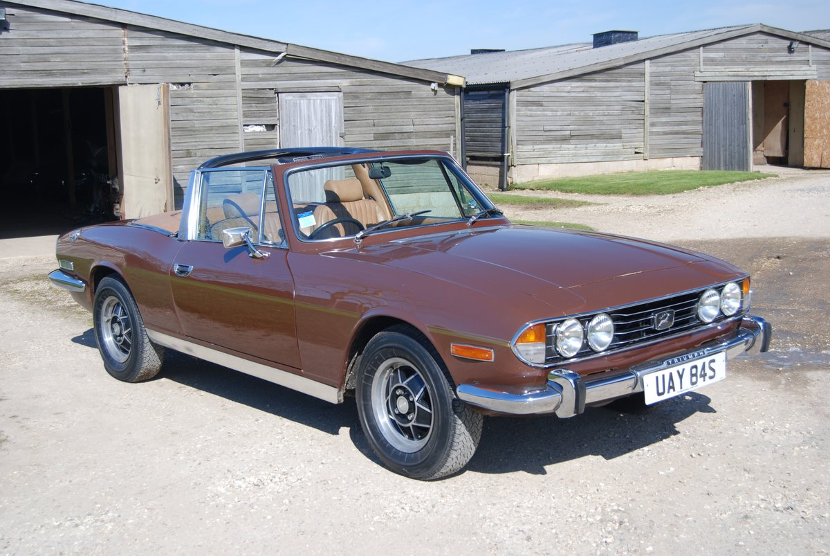 1977  Triumph Stag, Mk2 Auto, Hard-top, Driving well, History For Sale (picture 1 of 6)