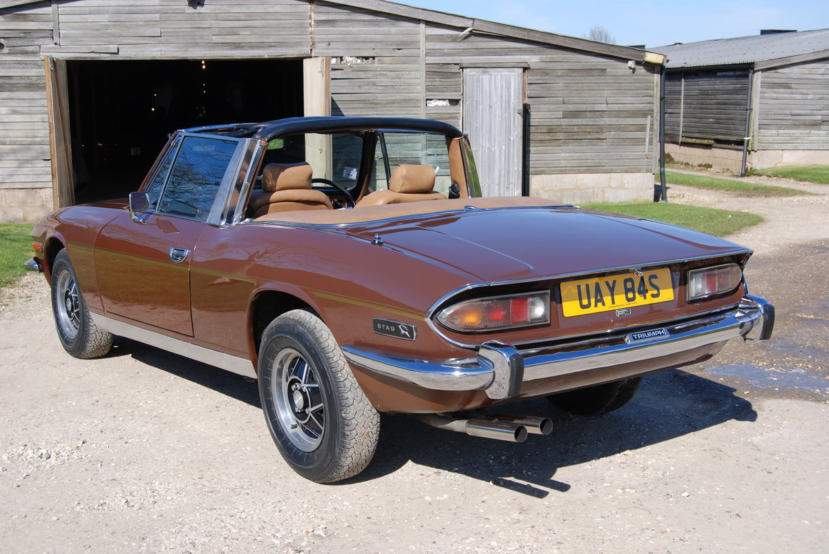 1977  Triumph Stag, Mk2 Auto, Hard-top, Driving well, History For Sale (picture 3 of 6)