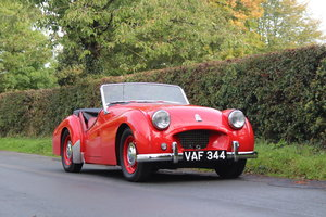 1955 Triumph TR2, Fully Rebuilt To An Exceptional Standard