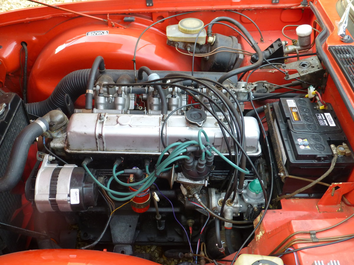 1975 TR6 Original UK Car For Sale (picture 6 of 6)