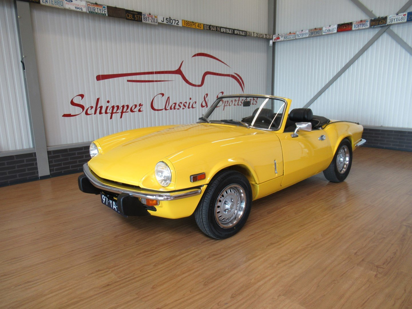 1973 Triumph Spitfire MK IV Roadster For Sale (picture 1 of 6)