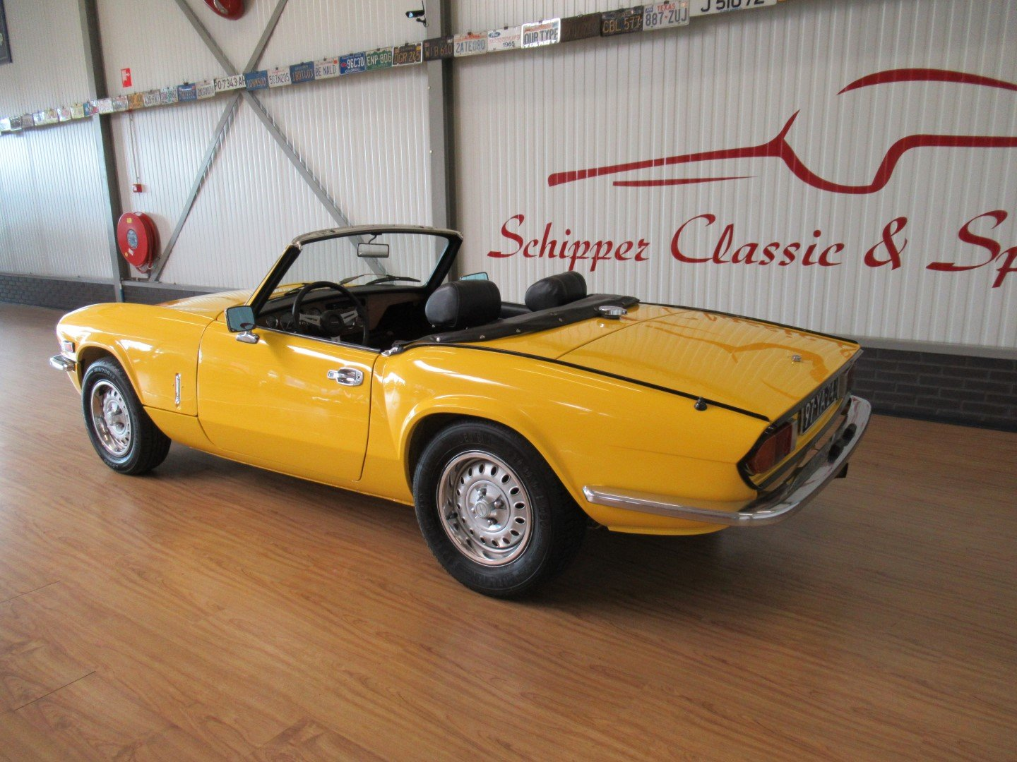1973 Triumph Spitfire MK IV Roadster For Sale (picture 3 of 6)