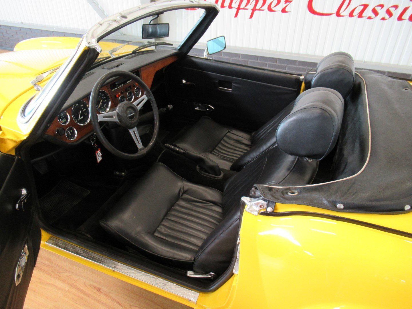 1973 Triumph Spitfire MK IV Roadster For Sale (picture 5 of 6)