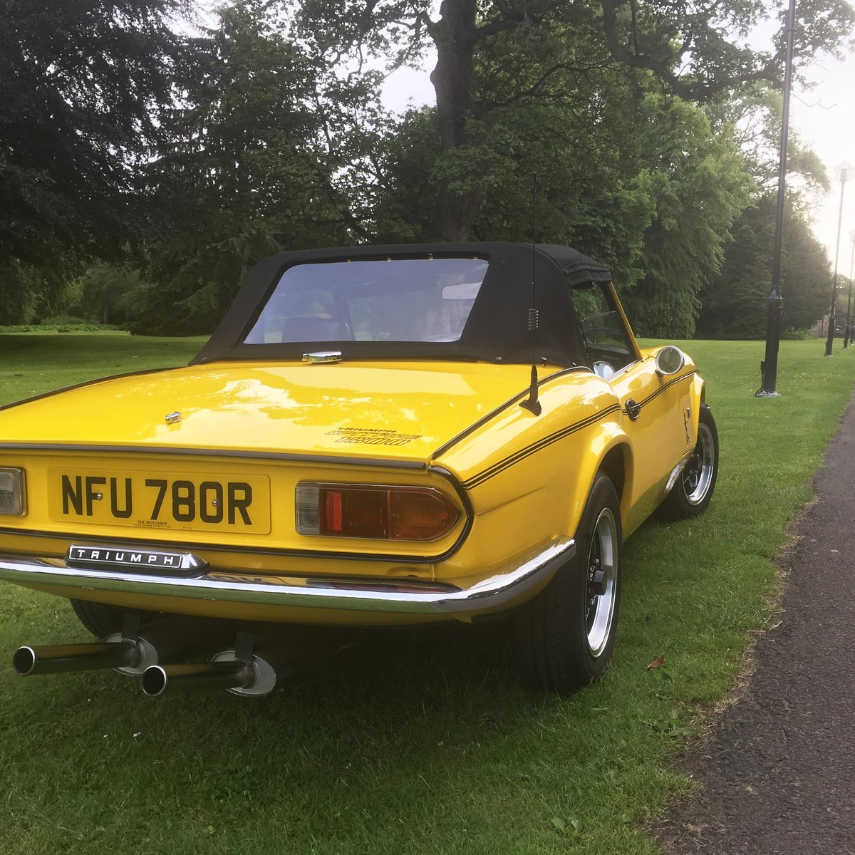 1977 Triumph Spitfire Sold Car And Classic
