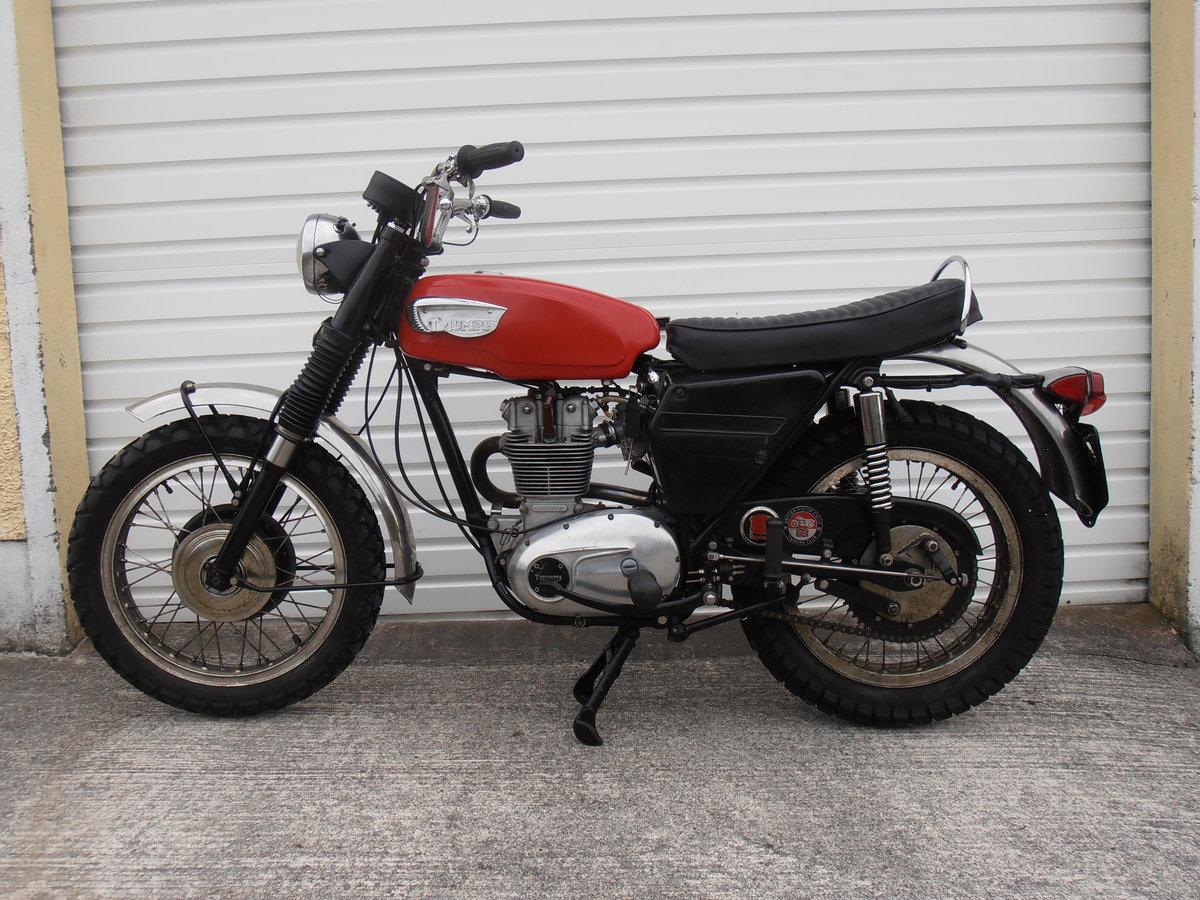 1969 Triumph Trophy TR25W Woodsman (250cc) For Sale (picture 1 of 6)