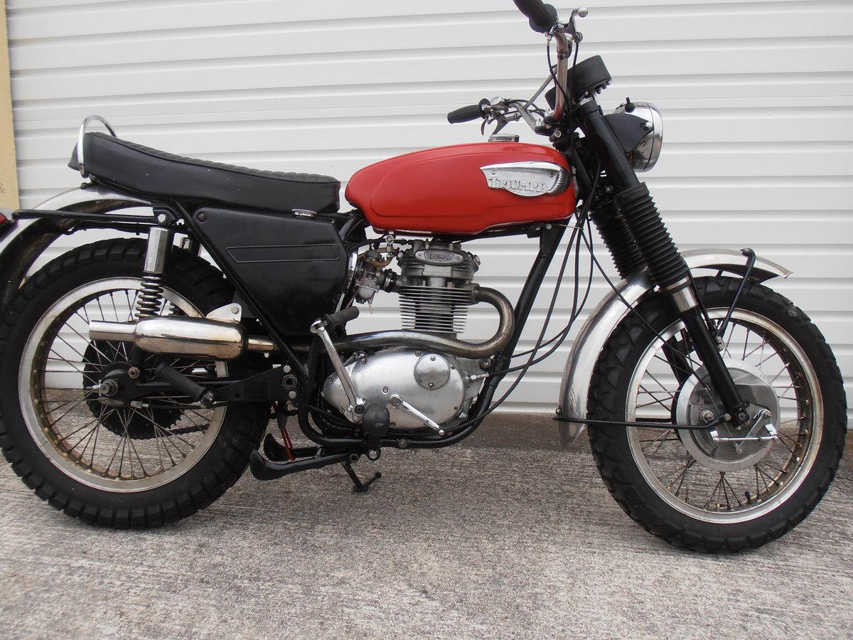 1969 Triumph Trophy TR25W Woodsman (250cc) For Sale (picture 2 of 6)