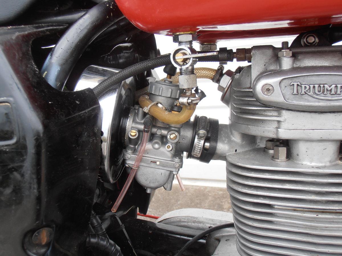 1969 Triumph Trophy TR25W Woodsman (250cc) For Sale (picture 4 of 6)