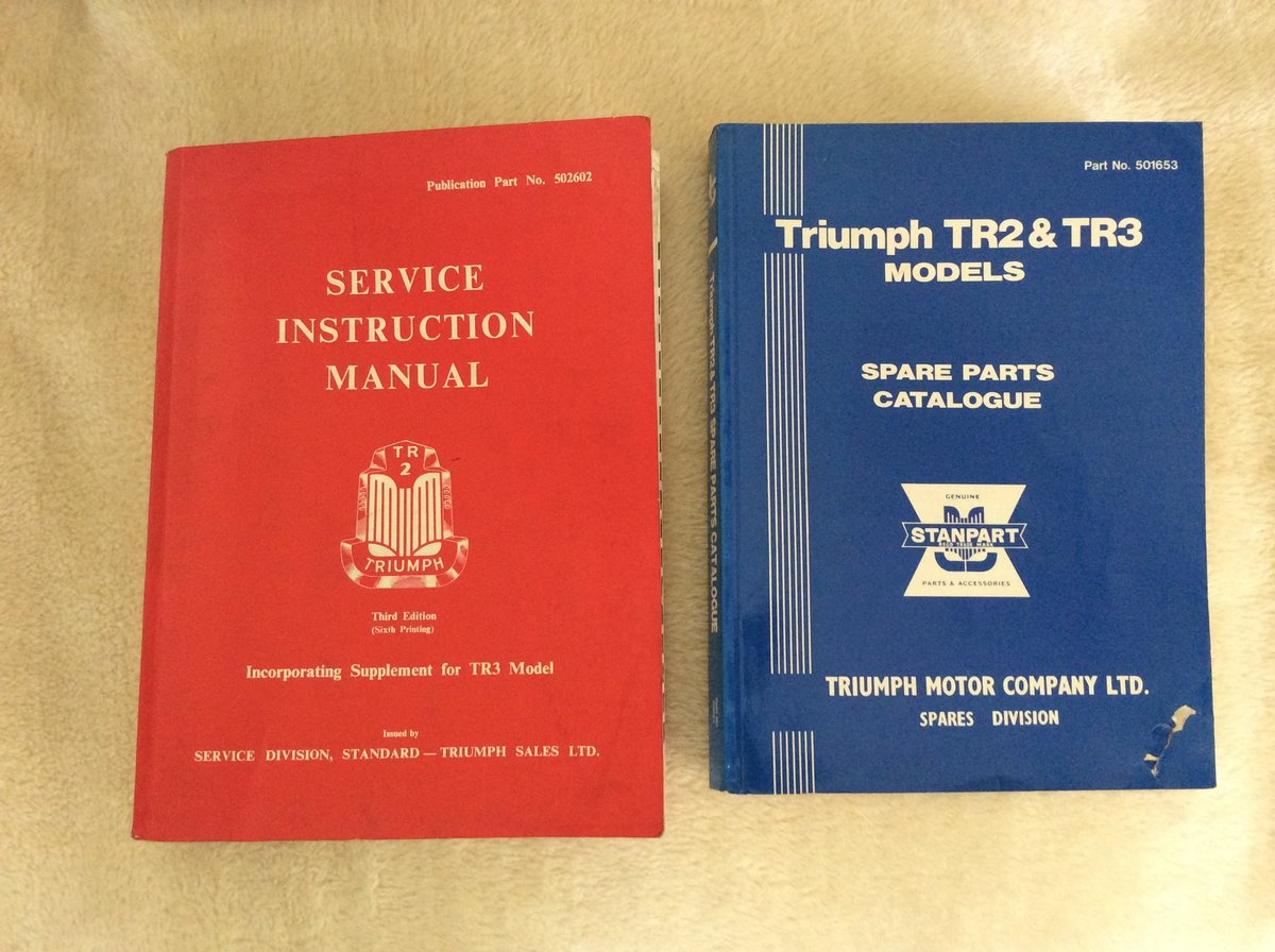 Manuals reproduction For Sale (picture 1 of 1)