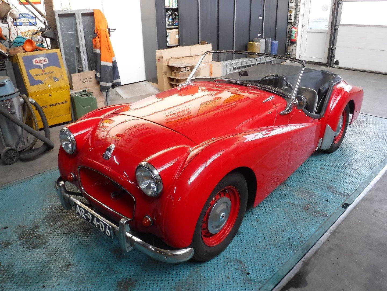 Triumph TR2 1955 For Sale (picture 1 of 6)