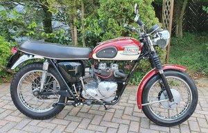 1960 Triumph T100A, 500 cc.