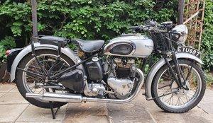 1938 Triumph Tiger 100, 500 cc.