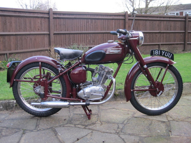 1954 Triumph Terrier 150cc  Matching Numbers SOLD (picture 1 of 6)