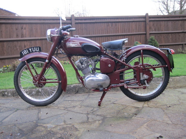 1954 Triumph Terrier 150cc  Matching Numbers SOLD (picture 2 of 6)