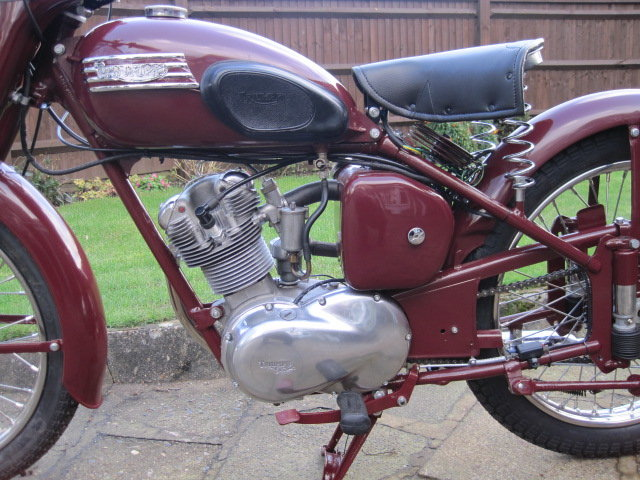 1954 Triumph Terrier 150cc  Matching Numbers SOLD (picture 4 of 6)