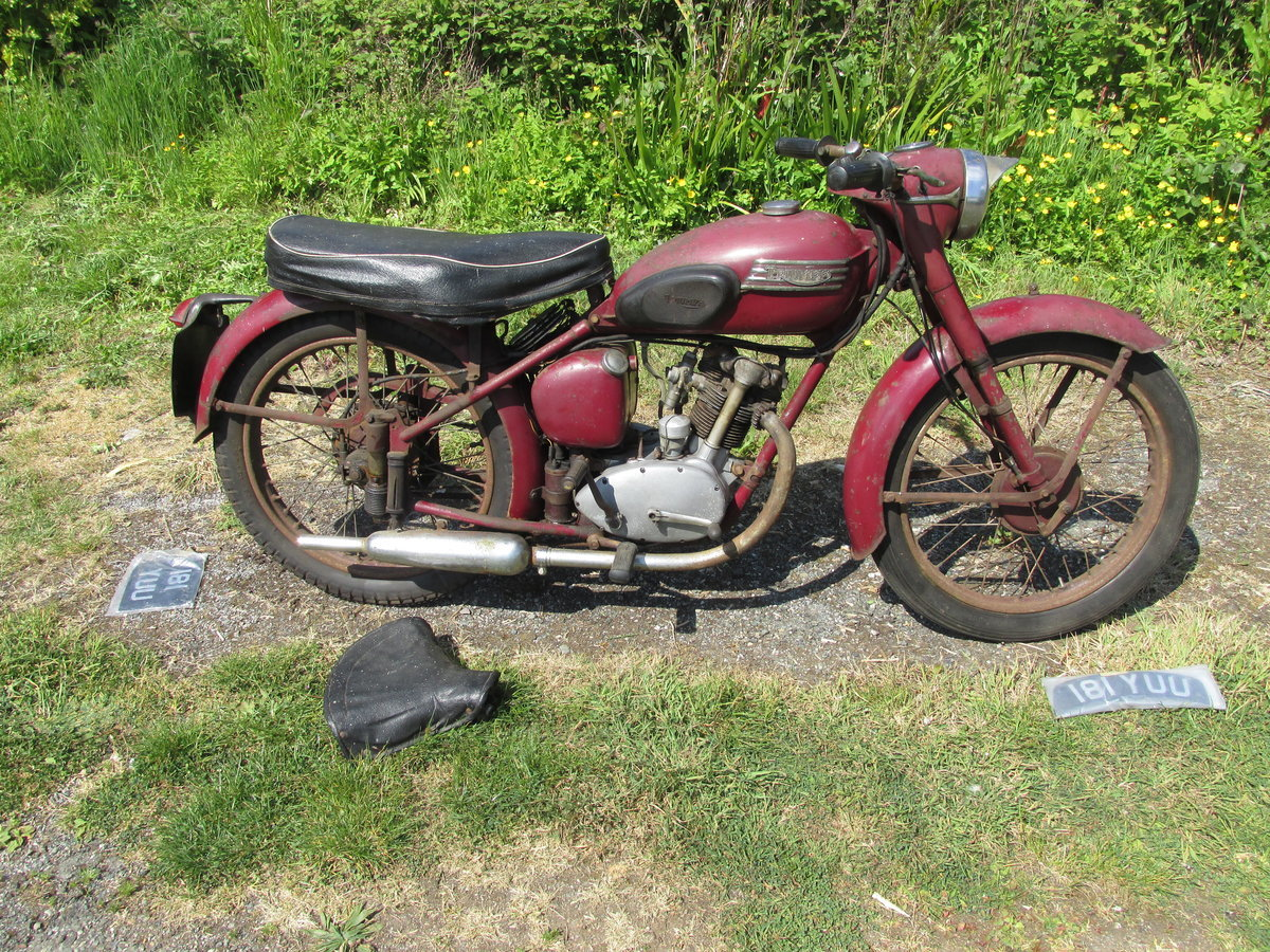 1954 Triumph Terrier 150cc  Matching Numbers SOLD (picture 6 of 6)