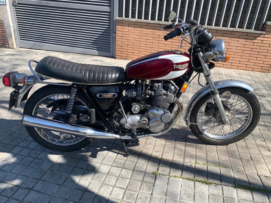 1975 Triumph t160 trident For Sale (picture 1 of 6)