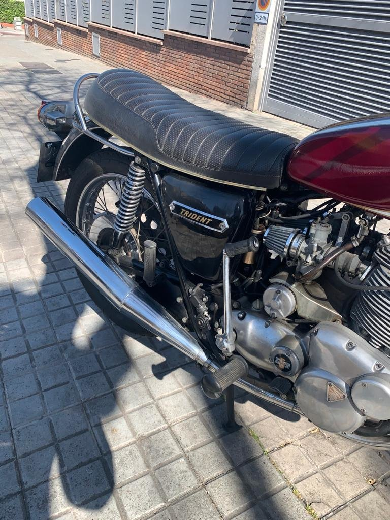1975 Triumph t160 trident For Sale (picture 4 of 6)