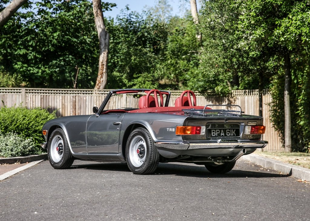 1972 Triumph TR6 SOLD by Auction (picture 3 of 6)