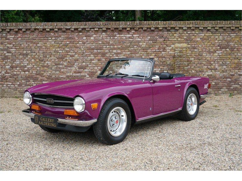 1974 Triumph TR6 Rare colour, low miles For Sale (picture 1 of 6)