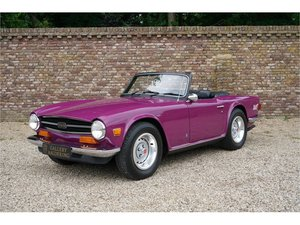 Triumph TR6 Rare colour, low miles