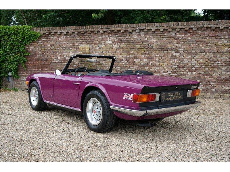 1974 Triumph TR6 Rare colour, low miles For Sale (picture 2 of 6)