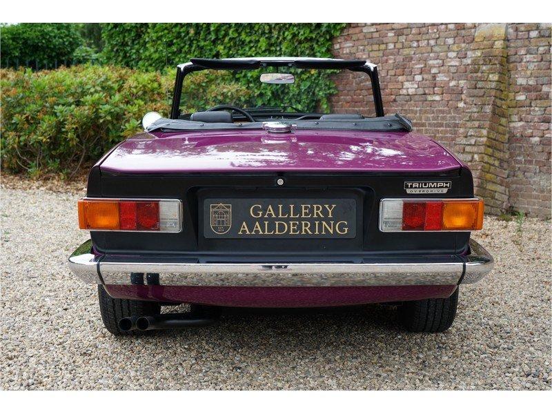1974 Triumph TR6 Rare colour, low miles For Sale (picture 5 of 6)
