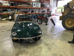 Triumph GT6 newly restored
