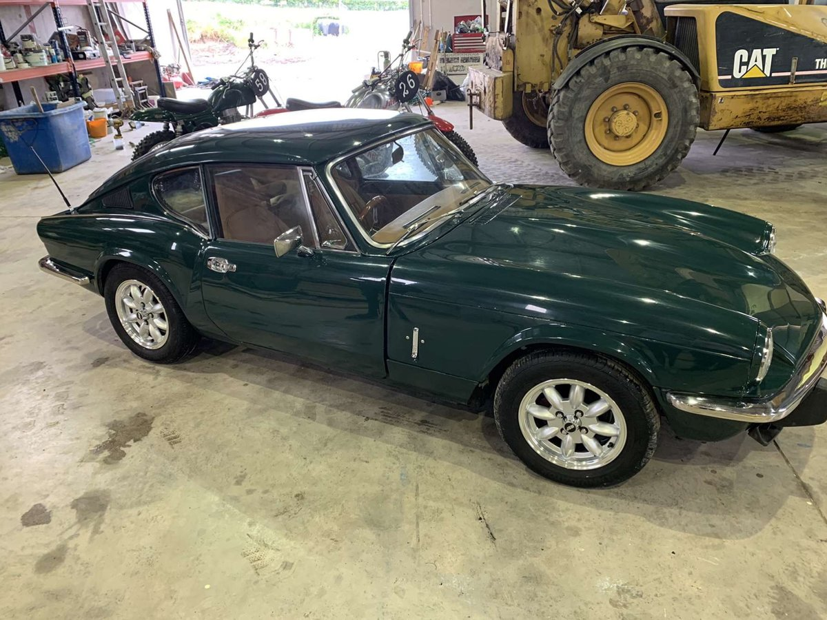 1972 Triumph GT6 newly restored For Sale (picture 5 of 6)