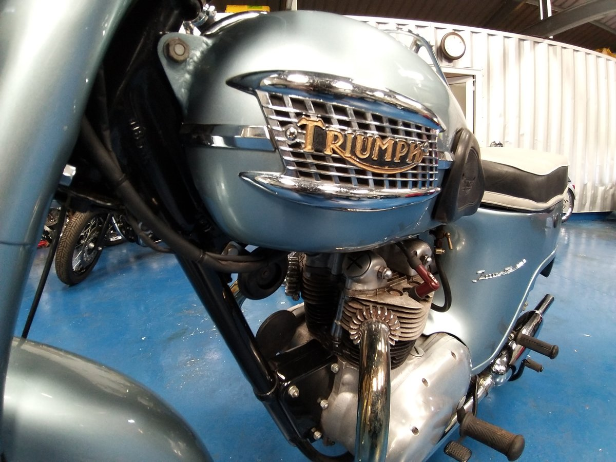 1960 Triumph 21 historic bike  For Sale (picture 2 of 4)