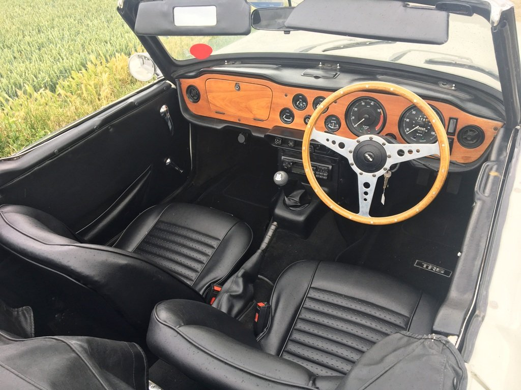 TR6 1972 GENUINE RHD 150 BHP CAR WITH OVERDRIVE SOLD (picture 2 of 6)