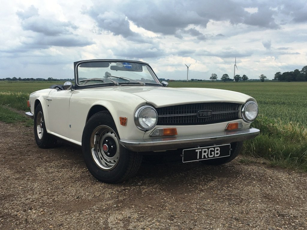 TR6 1972 GENUINE RHD 150 BHP CAR WITH OVERDRIVE SOLD (picture 4 of 6)