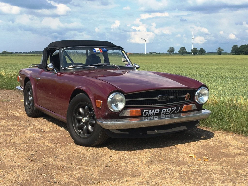 TR6 1970. GENUINE 150 BHP CAR WITH OVERDRIVE.  SOLD (picture 1 of 6)