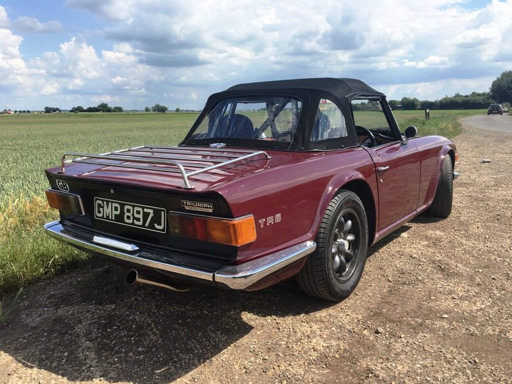 TR6 1970. GENUINE 150 BHP CAR WITH OVERDRIVE.  SOLD (picture 2 of 6)