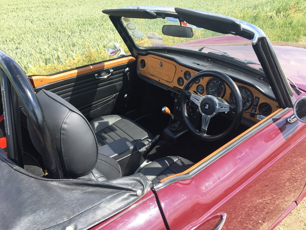 TR6 1970. GENUINE 150 BHP CAR WITH OVERDRIVE.  SOLD (picture 3 of 6)