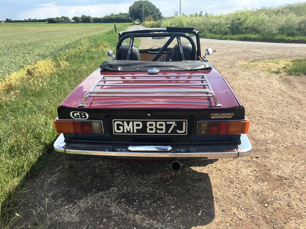 TR6 1970. GENUINE 150 BHP CAR WITH OVERDRIVE.  SOLD (picture 6 of 6)