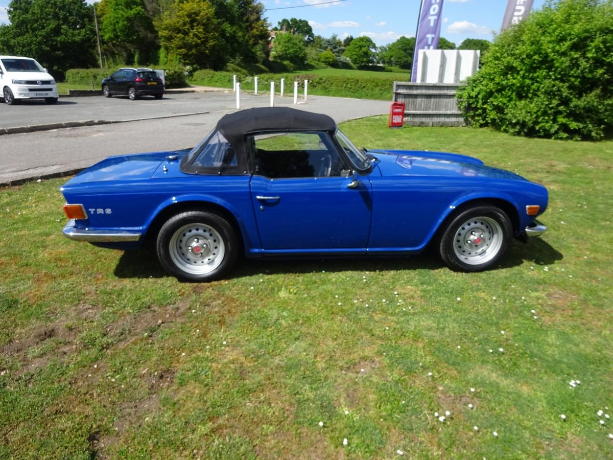 Picture of 1974 TRIUMPH TR6  Manual With Overdrive For Sale