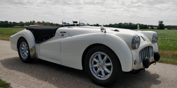 1957 Triumph TR3 '57  lhd